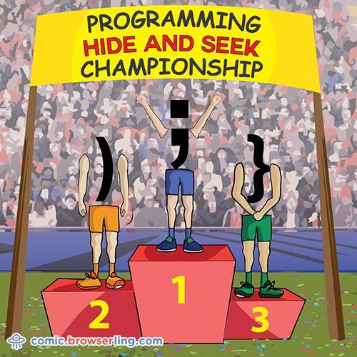 Hide And Seek Programming Jokes