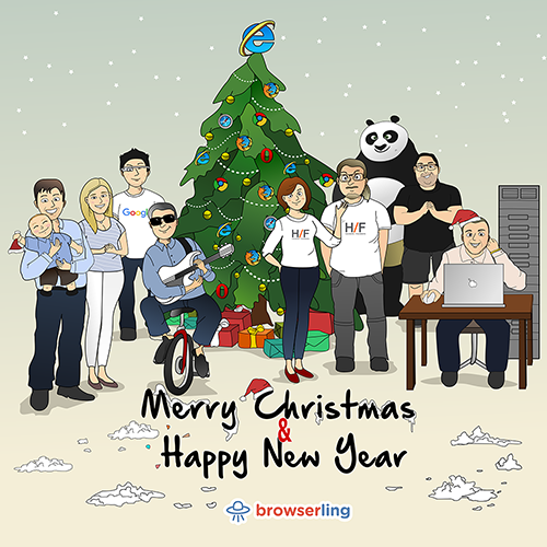 Merry browserful Christmas and Happy browserful New Year 2017!