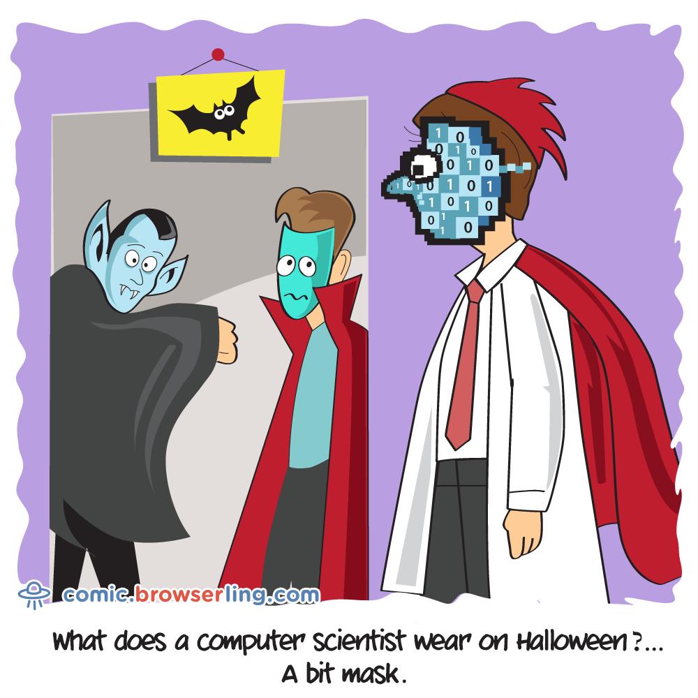 Halloween - Computer science comics, cartoons and jokes