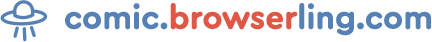 comic.browserling.com logo