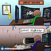 What you thought great hackers look like vs. what they really are like.